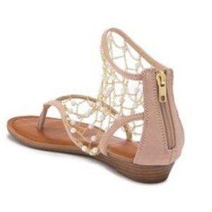 Zigi Soho Madilyn Pearly Bead Chain Sandal